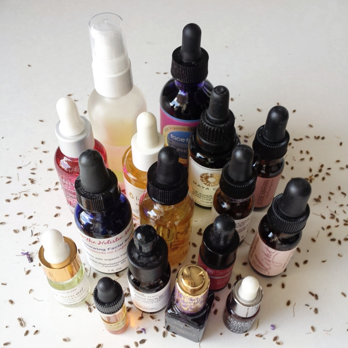 Natural and Organic Beauty OILS Haul