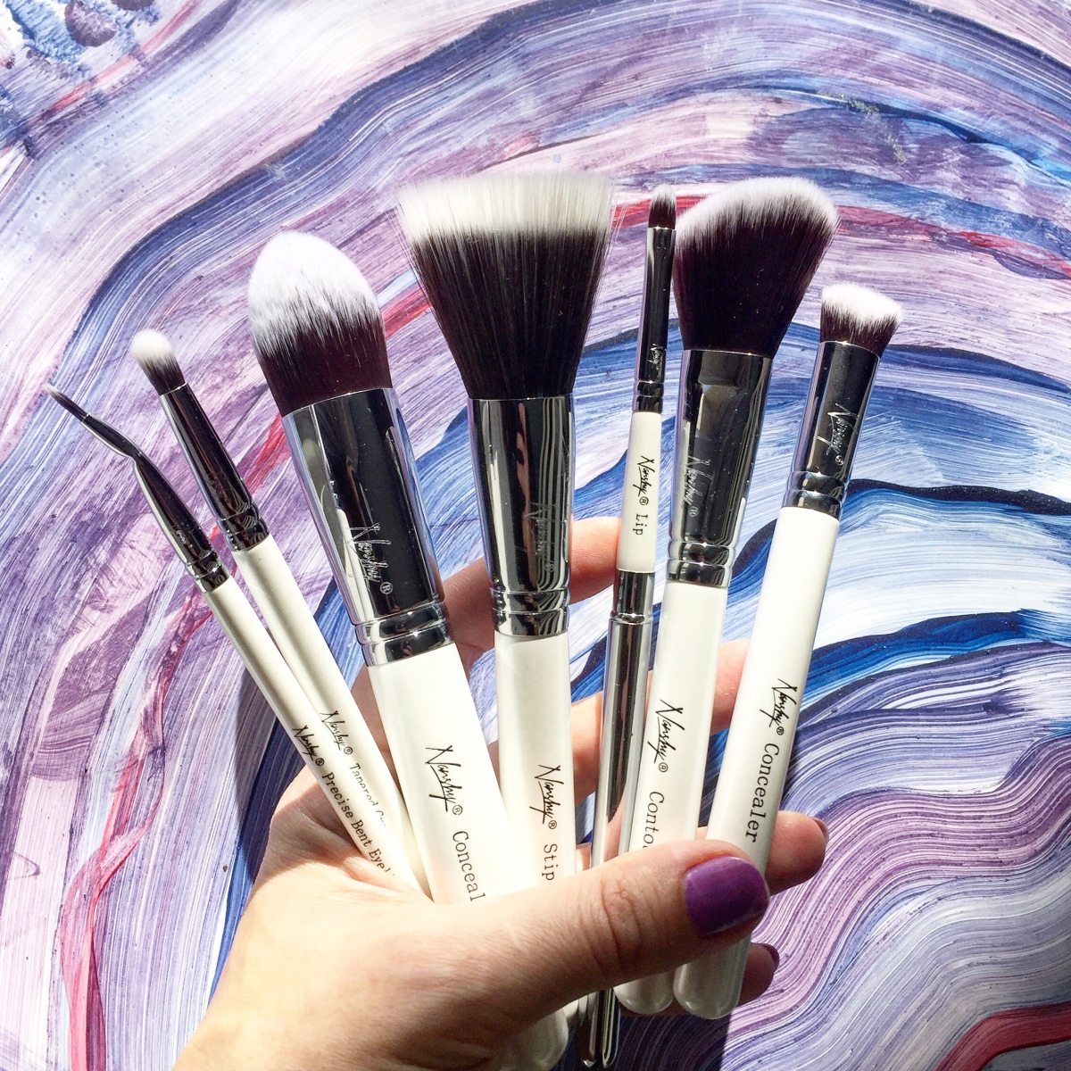 NANSHY VEGAN MAKEUP BRUSHES Haul Review & INTERNATIONAL GIVEAWAY