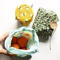 The Reusable Beeswax Wrap & Bag
